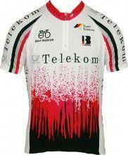TELEKOM 1992 Radsport-Kurzarmtrikot Biemme-Retro-Kollektion