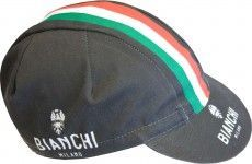 Bianchi Milano NEON - Renncap schwarz (E17-4000)