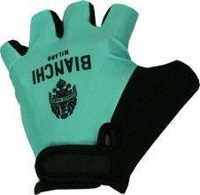 Bianchi Milano Handschuh BINDERI (Kurzfingerhandschuh) - celeste