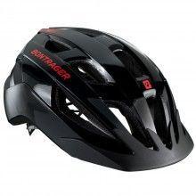 Bontrager SOLSTICE Fahrradhelm schwarz rot 1