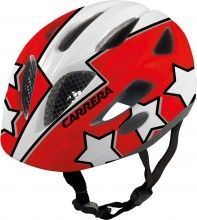Carrera Kinder Fahrradhelm BOOGIE red flash