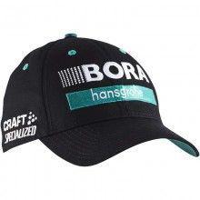 BORA-hansgrohe 20147 Podium Cap schwarz 1