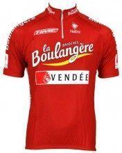 Brioches la Boulangere 2003 Trikot (Kurzarmtrikot) - Nalini Radsport-Profi-Team (kurzer Reißverschluss)