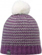 Buff Mütze Knitted & Polar Hat Dorn plum 1