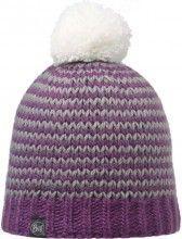 Buff Mütze Knitted & Polar Hat Dorn plum 1