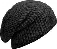 Buff Mütze Knitted & Polar Hat Drip black 1