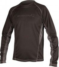 ENDURA Multisport Langarmshirt CAIRN schwarz