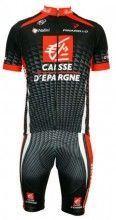 Caisse d'Epargne 2010 Nalini Radsport-Profi-Team - Radsport-Set (Trikot mit langem Reißverschluss)
