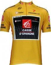 Caisse d'Epargne - Vuelta Sieger 2009 Nalini Radsport-Profi-Team - Kurzarmtrikot mit kurzem Reißverschluss