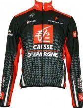 Caisse d'Epargne 2010 Nalini Radsport-Profi-Team - Radsport-Winterjacke