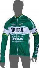 CAJA RURAL - SEGUROS RGA 2014 Langarmtrikot - Inverse Radsport-Profi-Team