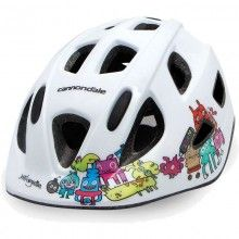 Cannondale Kinder Radhelm weiss