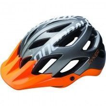 Cannondale Radhelm Ryker AM grau/orange