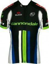 CANNONDALE PRO CYCLING 2013 Black Edition Sugoi Radsport-Profi-Team - Kurzarmtrikot mit langem Reißverschluss