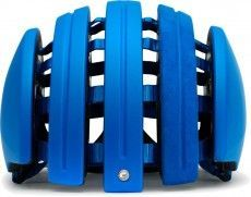 Carrera Radsporthelm Foldable SUEDE blau matt 1