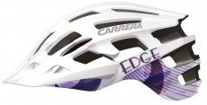 Carrera Damen Fahrradhelm EDGE LADY weiß violett