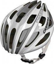 Carrera Fahrradhelm PISTARD 2.13 weiß silber glänzend