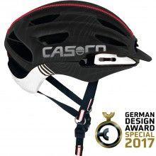 Casco FULL AIR RCC Fahrradhelm schwarz/weiß 1