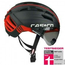Casco SPEEDster TC PLUS Fahrradhelm schwarz rot 1