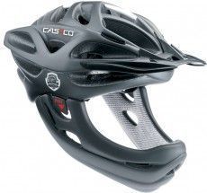 Casco Fahrradhelm VIPER MX schwarz (ohne Kinnbügel)