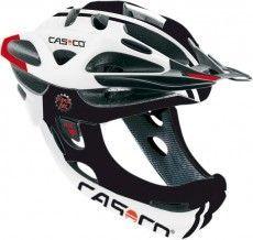 Casco Fahrradhelm VIPER MX comp (ohne Kinnbügel) weiß/ schwarz