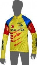 CATALUNYA 2014 Langarmtrikot - Inverse Radsport-Profi-Team