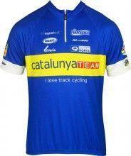 CATALUNYA TRACK Kurzarmtrikot (kurzer Reißverschluss) - Inverse Radsport-Profi-Team