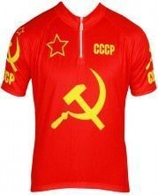 NALINI Design Kollektion CCCP Kurzarmtrikot PUTINOV