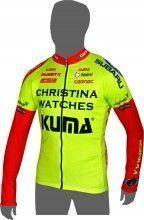 CHRISTINA WATCHES - KUMA 2014 Langarmtrikot - Nalini Radsport-Profi-Team