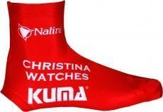 CHRISTINA WATCHES - KUMA 2014 Lycra-Zeitfahr-Überschuh - Nalini Radsport-Profi-Team