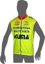 CHRISTINA WATCHES - KUMA 2014 Wind-Weste - Nalini Radsport-Profi-Team