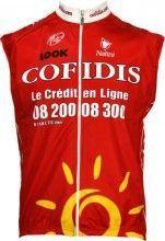 Cofidis 2009 Nalini Kinder-Radsport-Profi-Team - Radsport-Wind-Weste