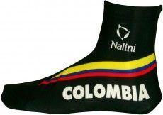 COLOMBIA 2015 Lycra-Zeitfahr-Überschuh - Nalini Radsport-Profi-Team