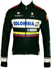 COLOMBIA 2014 Radsport-Winterjacke - Nalini Radsport-Profi-Team