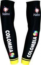 COLOMBIA 2015 Armwärmer - Nalini Radsport-Profi-Team