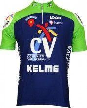 Comunitat Valenciana 2005 Trikot (kurzer Reißverschluss) - Nalini Profi-Team Radsportbekleidung