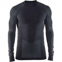 Craft Activ Intensity Crewneck Langarm Unterhemd schwarz 1