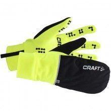 Craft Hybrid Weather Glove 2- in 1 Fahrradhandschuhe Winter gelb
