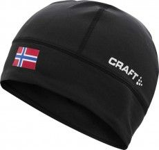 Craft Mütze Light Thermal Hat Norwegen black 1
