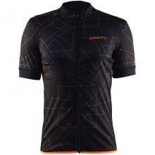 Craft Reel Graphic Jersey radtrikot kurzarm schwarz orange 1