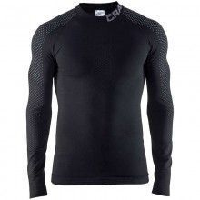 Craft Warm Intensity Crewneck Langarm Unterhemd schwarz 1