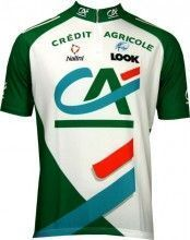 Credit Agricole 2005 Nalini Radsport-Profi-Team - Kurzarmtrikot mit kurzem Rei�verschluss