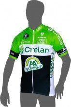 CRELAN AA-DRINK 2015 Kurzarmtrikot (langer Reißverschluss) - Vermarc Radsport-Profi-Team