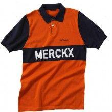 De Marchi Eddi Merckx Polo orange/blau 1