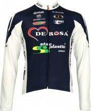 DeRosa Biemme Radsport-Profi-Team - Langarmtrikot