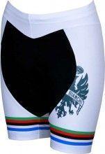 Bianchi Milano E15 DOKAI Damen-Radsporthose STP weiß - Campione