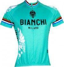Bianchi Milano EDDI 1 - Damen-Kurzarmtrikot celeste - Campione (E17-4300)