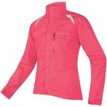 Endura Gridlock II Damen Regenjacke pink 1