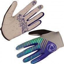 Endura Damen Langfingerhandschuh kobalt blau 1