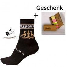 Endura Merino-Socken GLENGOYNE Whiskey (E1133BK) + GRATIS Trikotexpress Schreibetui
